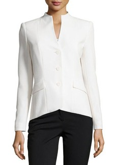 Lafayette 148 New York Long-Sleeve Button-Front Jacket