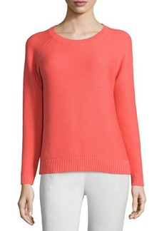 Lafayette 148 New York Long-Sleeve Crewneck Sweater