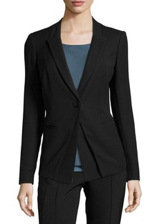Lafayette 148 New York Long-Sleeve Fitted Jacket