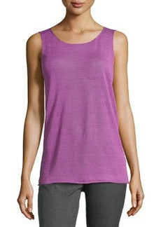 Lafayette 148 New York Long Tank Top, Blossom