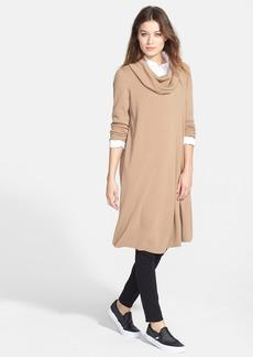 Lafayette 148 New York Long Wool Cowl Neck Sweater