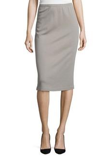 Lafayette 148 New York Long Wool Pencil Skirt