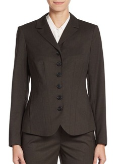Lafayette 148 New York Lorinna Stretch-Wool Jacket