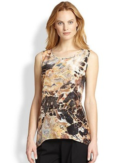 Lafayette 148 New York Lucy Marble Sleeveless Top