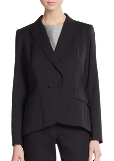 Lafayette 148 New York Lupita Double-Breasted Blazer