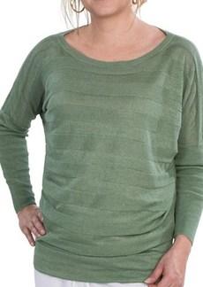 Lafayette 148 New York Lustrous Linen Dolman Sweater (For Women)