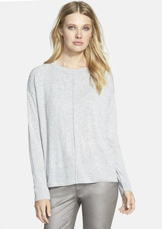 Lafayette 148 New York Mélange Drop Shoulder Sweater