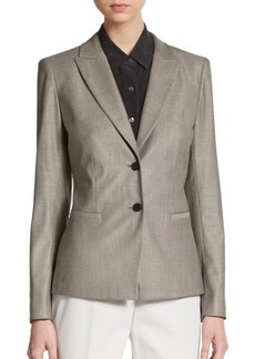 Lafayette 148 New York Mabel Wool-Blend Blazer
