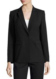 Lafayette 148 New York Mackenzie Single-Button Jacket