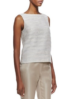 Lafayette 148 New York Maddie Woven Sleeveless Top
