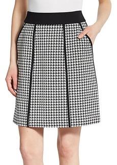 Lafayette 148 New York Madeline Houndstooth Skirt