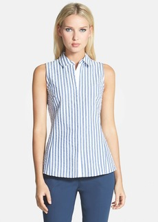 Lafayette 148 New York 'Maki' Essex Stripe Blouse