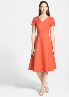 Lafayette 148 New York 'Manon' Fit & Flare Midi Dress