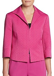 Lafayette 148 New York Marlo Three-Quarter Sleeve Jacket