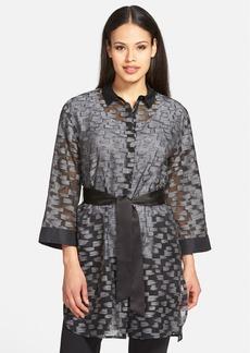 Lafayette 148 New York 'Melody' Kimono Blouse