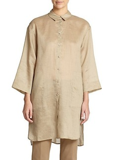 Lafayette 148 New York Melody Long Blouse
