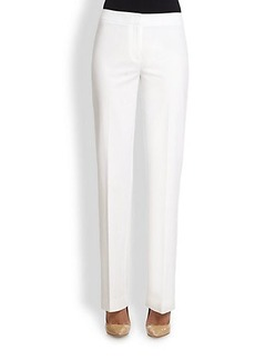 Lafayette 148 New York Menswear Stretch Cotton Pants