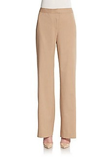 Lafayette 148 New York Menswear Stretch Wool Pants