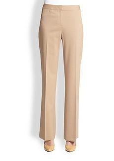 Lafayette 148 New York Menswear Stretch Wool Pants