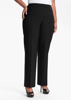 Lafayette 148 New York 'Menswear' Trousers (Plus Size)