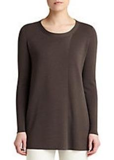 LAFAYETTE 148 NEW YORK Merino Scoop-Neck Sweater