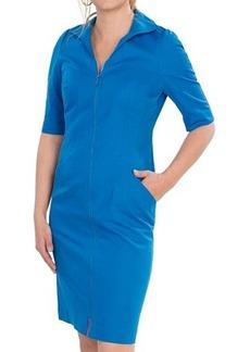 Lafayette 148 New York Metropolitan Stretch Larissa Dress - Elbow Sleeve (For Women)