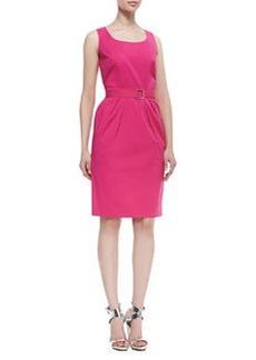 Lafayette 148 New York Mia Sleeveless Belted Dress