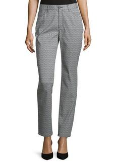 Lafayette 148 New York Mid-Rise Curvy Slim-Leg Pants