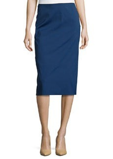 Lafayette 148 New York Midi-Length Pencil Skirt, Luna