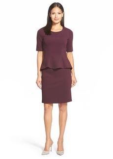 Lafayette 148 New York MilanoKnit Mock Two-Piece Dress (Regular & Petite)