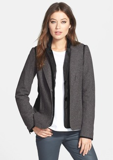 Lafayette 148 New York Mixed Media Jacket