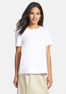 Lafayette 148 New York Mixed Media Tee