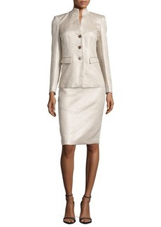 Lafayette 148 New York Modern Slim-Fit Skirt