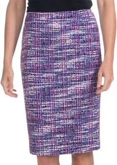 Lafayette 148 New York Modern Slim Skirt - Cachet Tweed (For Women)