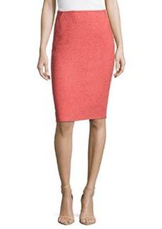 Lafayette 148 New York Modern Slim Skirt, Rosewater