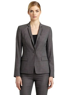 Lafayette 148 New York 'Modern Tristan' One-Button Blazer