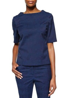 Lafayette 148 New York Molly Jacquard Blouse