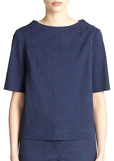 Lafayette 148 New York Molly Jacquard Top