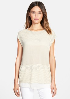 Lafayette 148 New York Multi Stitch Sweater
