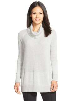 Lafayette 148 New York Multi Panel Cowl Neck Sweater
