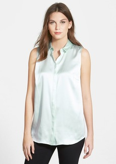 Lafayette 148 New York 'Nadie - Luxe Charmeuse' Silk Blouse
