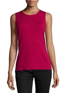Lafayette 148 New York Needle-Stitch Tank