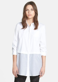Lafayette 148 New York 'Neptune' Tiered Tunic Blouse