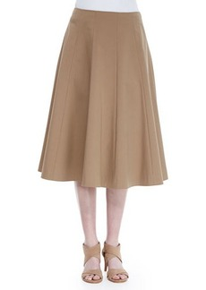 Lafayette 148 New York Nevada A-Line Skirt