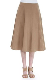 Lafayette 148 New York Nevada A-Line Skirt, Chai