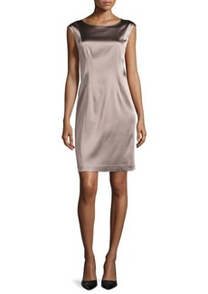 Lafayette 148 New York Norina Sleeveless Sheath Dress