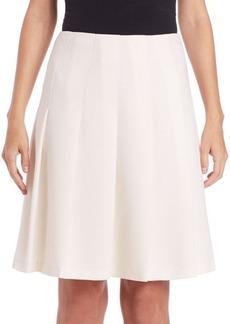 Lafayette 148 New York Nouveau Crepe Rayden Skirt