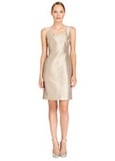 LAFAYETTE 148 NEW YORK Nouveau Shantung Silk Blend Ava Dress