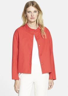 Lafayette 148 New York 'Olson' Dolman Sleeve Cotton Topper