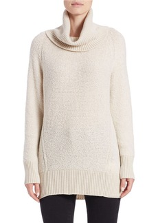 LAFAYETTE 148 NEW YORK Oro Cowl-Neck Boucle Sweater